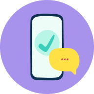 Phone - Checkmark - Chat (1)